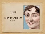Calendario Conferencias 2017 Bicentenario Jane Austen, en Casa del Libro, Pº de Gracia,Barcelona