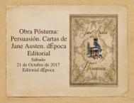 """18 Noviembre 2017: Encuentro austeniano """"Especial Editorial dÉpoca"""", Casa del Libro Pº de Gracia,Barcelona"""