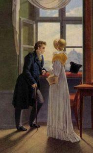 Segunda quincena de Enero de 1817 en la vida de Jane Austen. Empieza a escribir su novela inacabada,Sanditon.