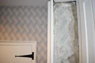 El papel de las paredes de la casa de Jane Austen, aldescubierto