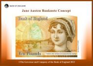 El billete de 10 libras con Jane Austen será presentado en Winchester el próximo 18 deJulio.