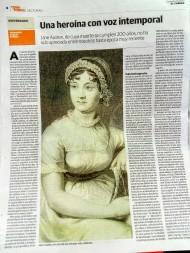 Artículo para el periódico El Correo, en el Bicentenario de Jane Austen, por Fernando GarcíaPañeda