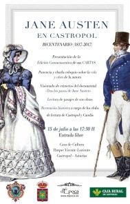 15 Julio 2017: Encuentro en Castropol, Asturias, para celebrar el Bicentenario de Jane Austen y presentación del libro de Cartas, dÉpocaEditorial