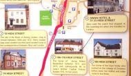 Mapas de Rutas por Alton y Chawton, con los lugares habituales de JaneAusten