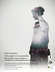 """26 Mayo 2018: Congreso Jane Austen en Madrid, CEU """"Del Papel a la Pantalla"""", organizado porJASES"""