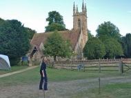 Crónica Viaje a la Casa de Jane Austen: Dia 1 (III) – la Casa Grande de Chawton y Marmite, el gatocustodio